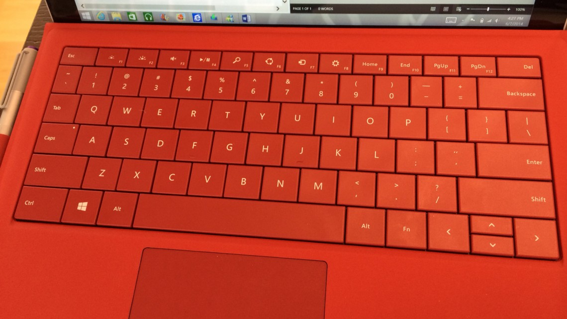 SURFACE WORKS AS LAPTOP HAS TRADE-OFFS