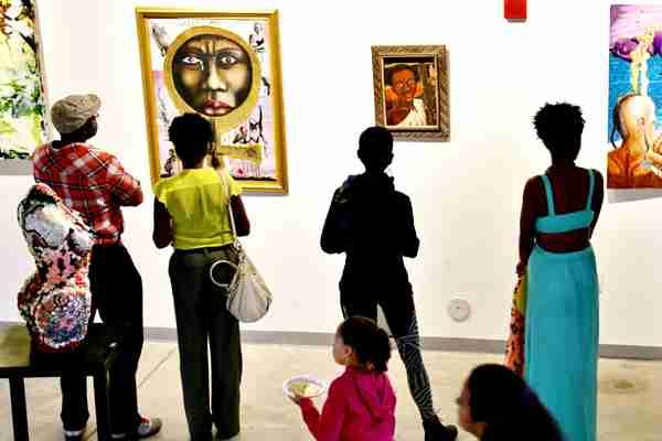 Artists' community exhibit addresses your 'elephant'01
