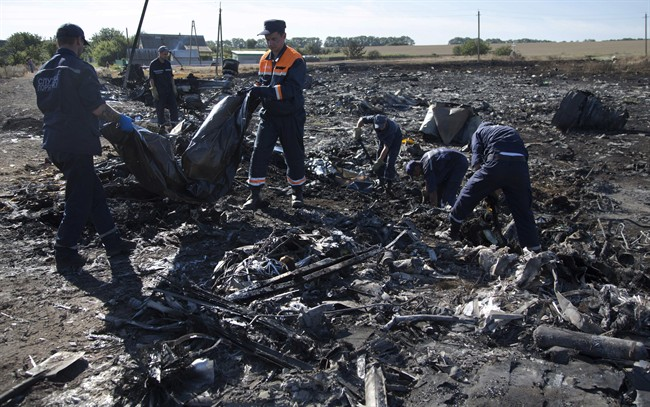 Bodies of Malaysia jet victims leave Ukraine