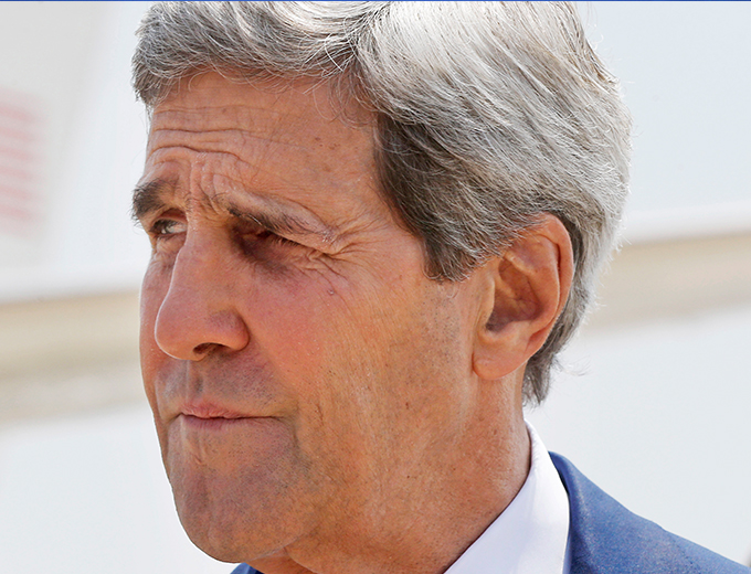 KERRY CITES PROGRESS IN GAZA CEASE-FIRE TALKS