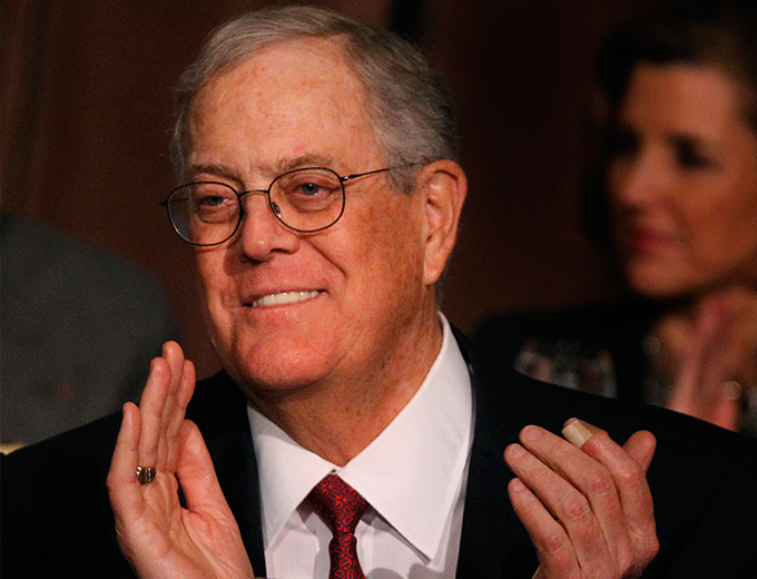 Koch brothers donation to the UNCF Was this the wrong 25 million