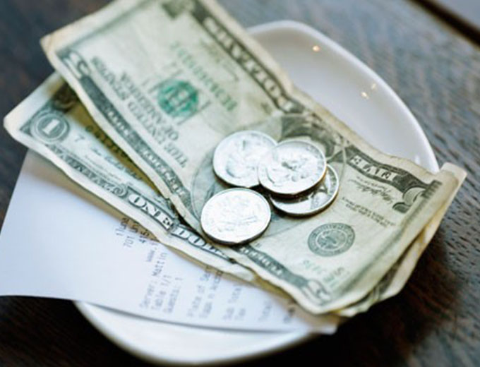 Living with Etiquette Tipping is a social grace you should do