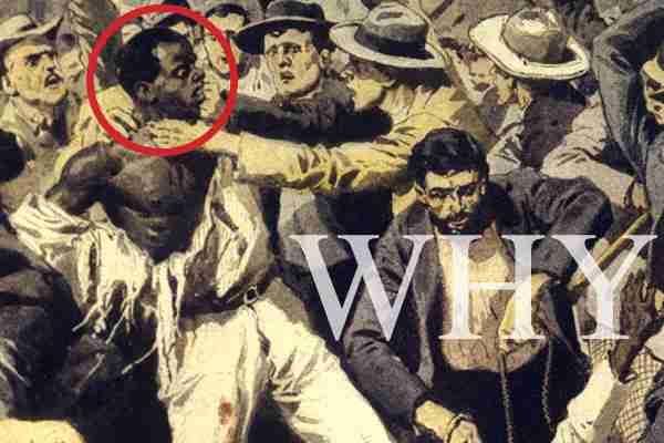 Racial unrest mars US history