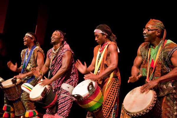 Drums and dance mark fifth African festival