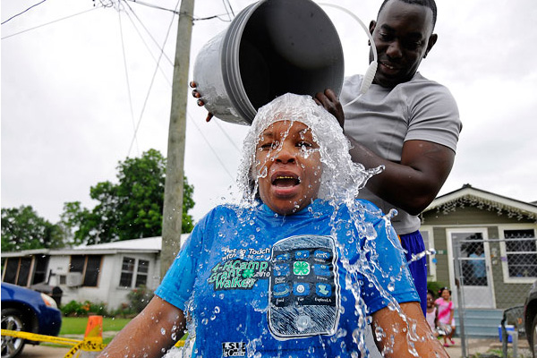 FUNdraising Good Times- Have you taken the Ice challenge