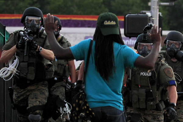 Ferguson's flashpoint sparks national outrage