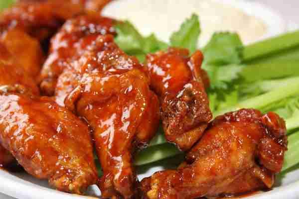 In Buffalo, chicken wings are king