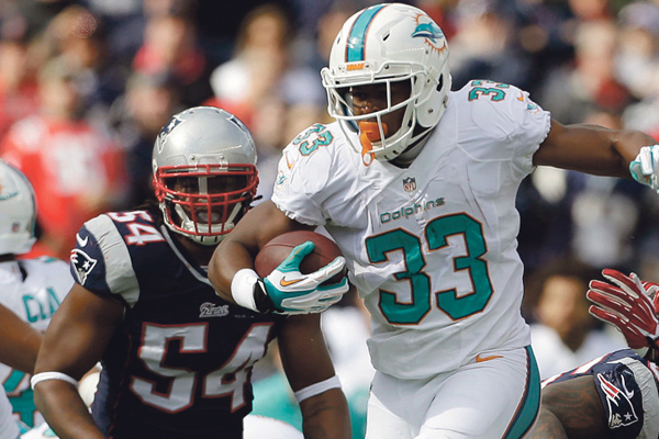 Miami win puts Patriots — gasp! — in last place