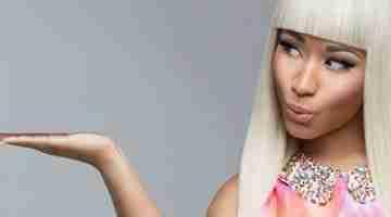 Nicki Minaj Natural look  stems from  confidence