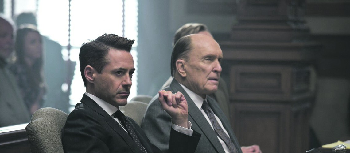 'The Judge-' Downey, Duvall in mediocre  movie