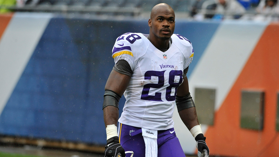 ADRIAN PETERSON IN COURT FOR CHILD ABUSE CASE
