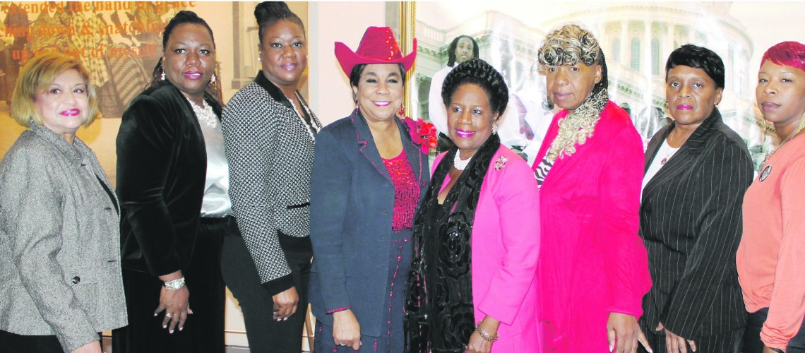 Congresswoman Wilson hosts Mothers of tragedy