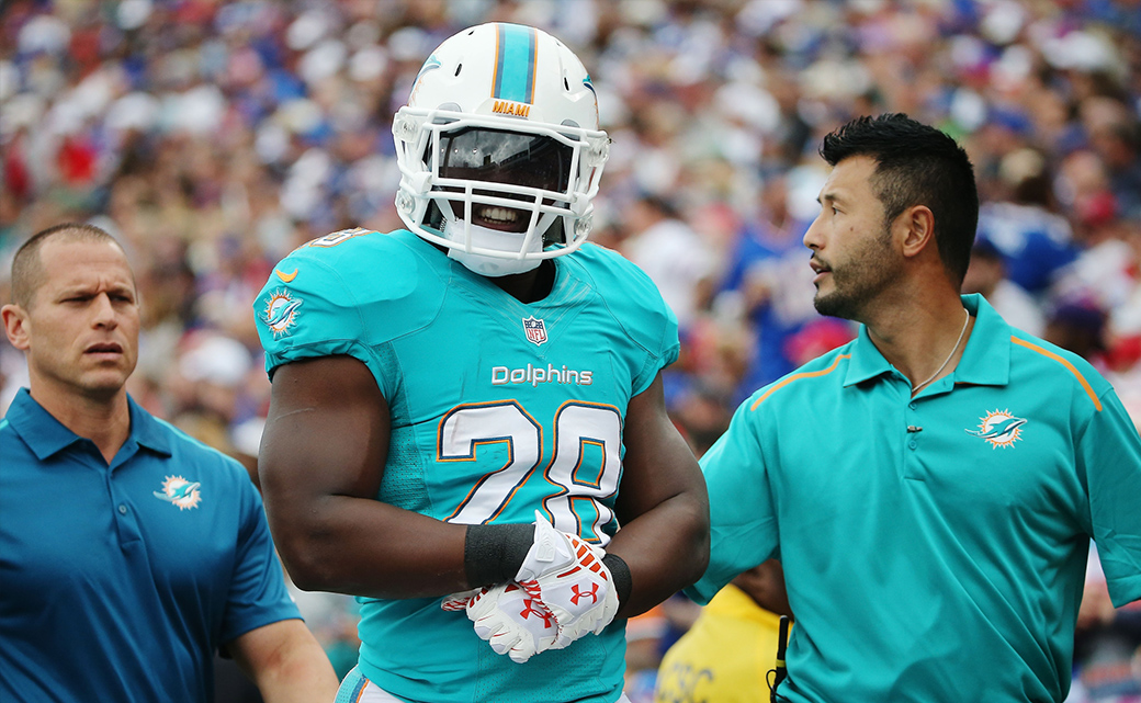 DOLPHINS' KNOWSHON MORENO GOES ON INJURED RESERVE