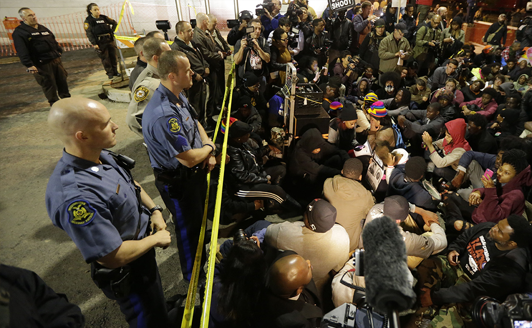 DOZENS ARRESTED ON 4TH DAY OF ST