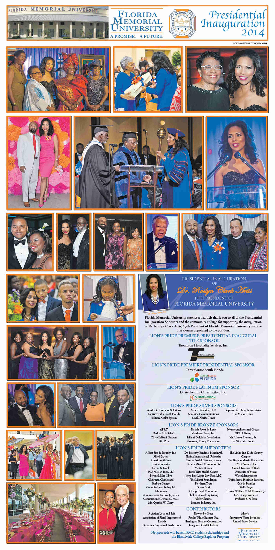 FMU INAUGURATION EVENTS 2014