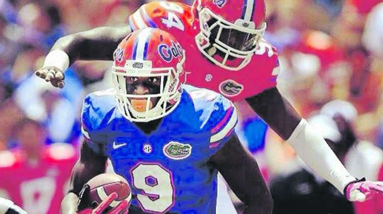 Florida receiver Pittman released from hospital