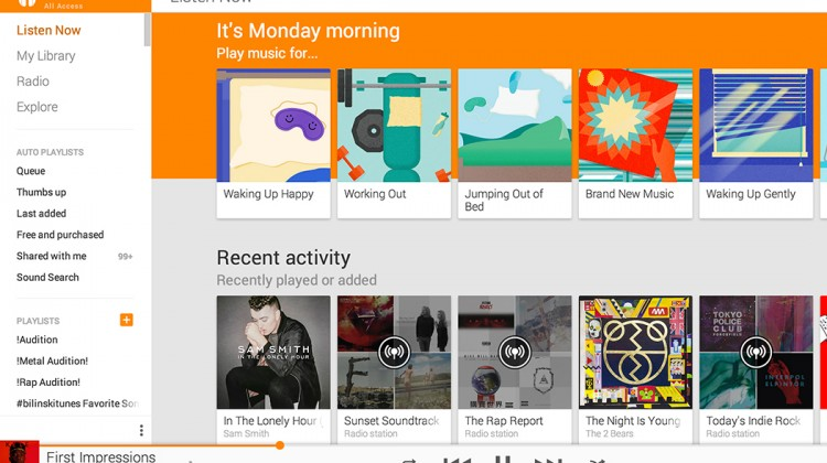 GOOGLE'S STREAMING MUSIC SERVICE ADDS MOOD TO MIX