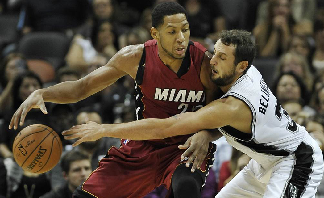 HEAT BEAT SPURS 111-108 IN OVERTIME