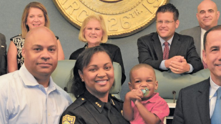 Hill brings a woman's perspective to a troubled Police Department