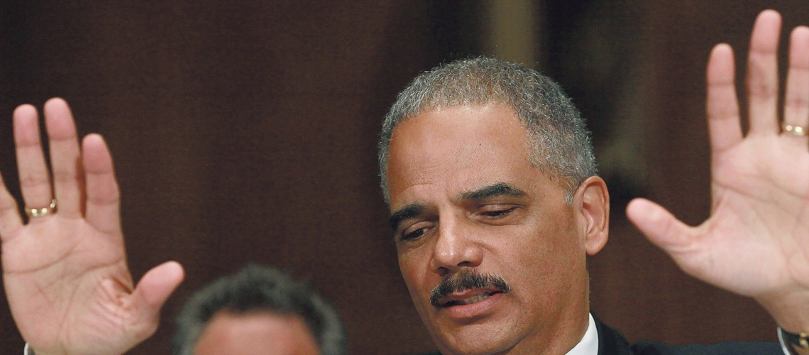 Holder departure clouds fate of rights cases