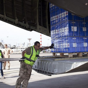 INTERNATIONAL COMMUNITY RAMPS UP AFRICA EBOLA AID