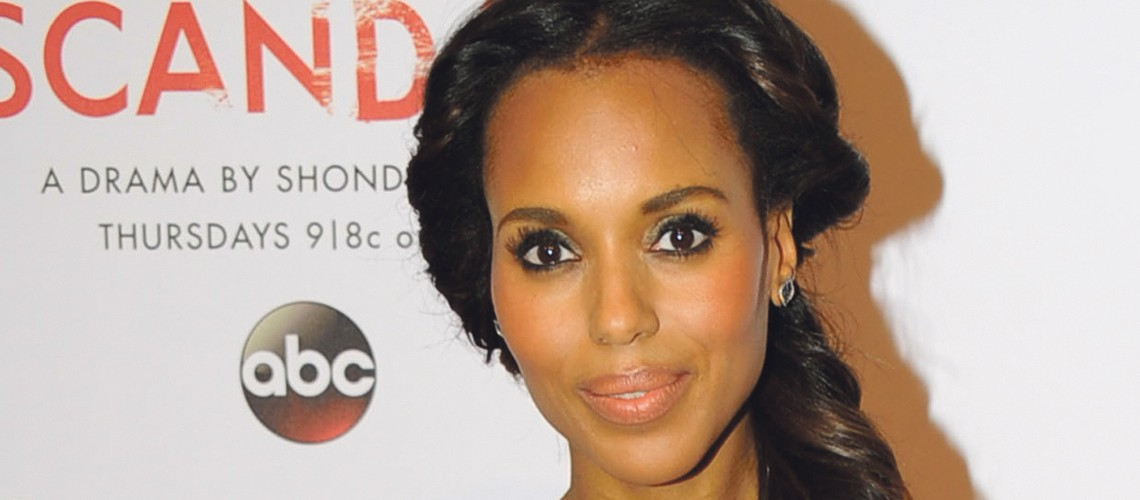 Kerry Washington  helps launch 'Scandal' collection