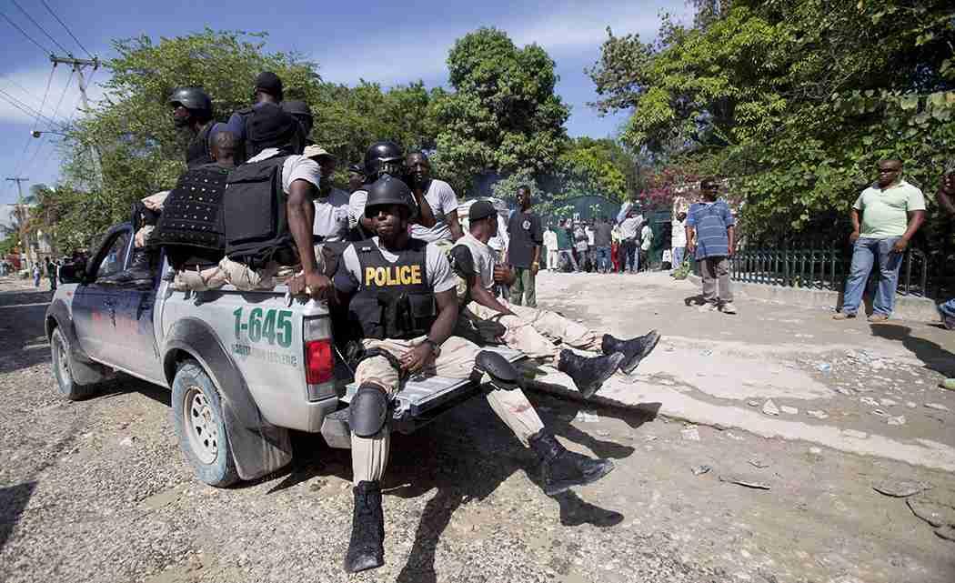 LOYALISTS, UNCERTAINTY SURROUND HAITI'S EX-LEADER