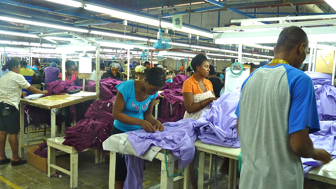 MINIMUM WAGE FOR APPAREL WORKERS HIKED 12