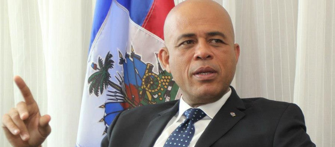 Martelly promises elections in Haiti