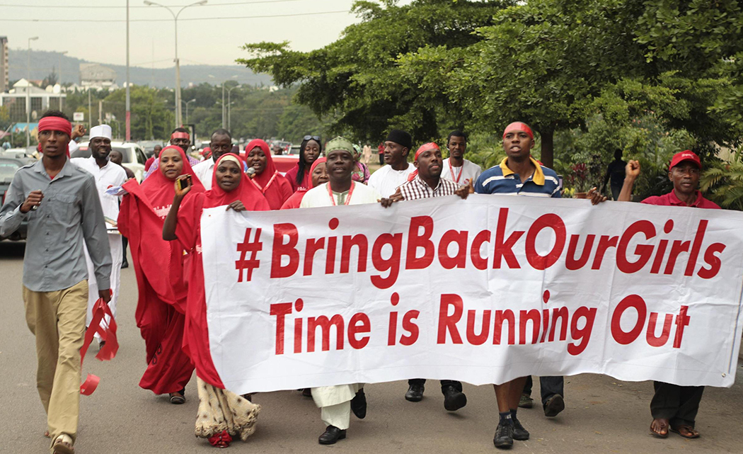 Nigerians await news on missing girls