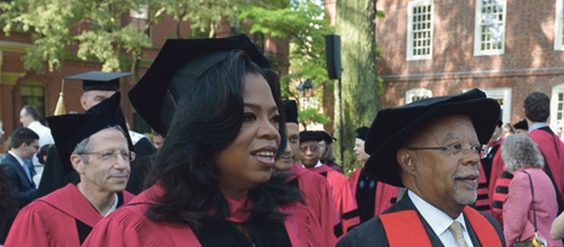 Oprah Winfrey, Harry Belafonte     among those honored with   Du Bois Medal from Harvard