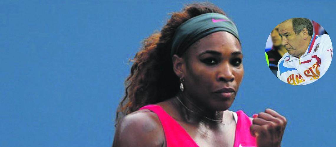 Russian official sanctioned for derogatory remarks about Williams sisters