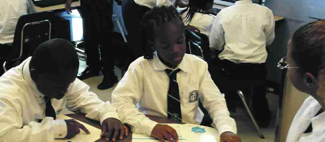 School is saving black boys