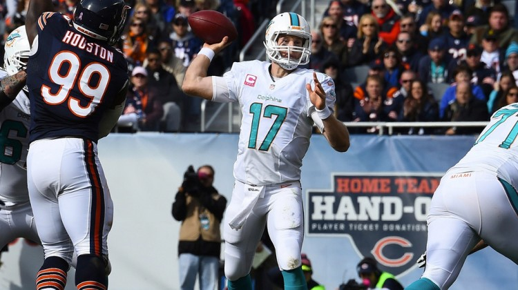 TANNEHILL LEADS DOLPHINS PAST BEARS 27-14