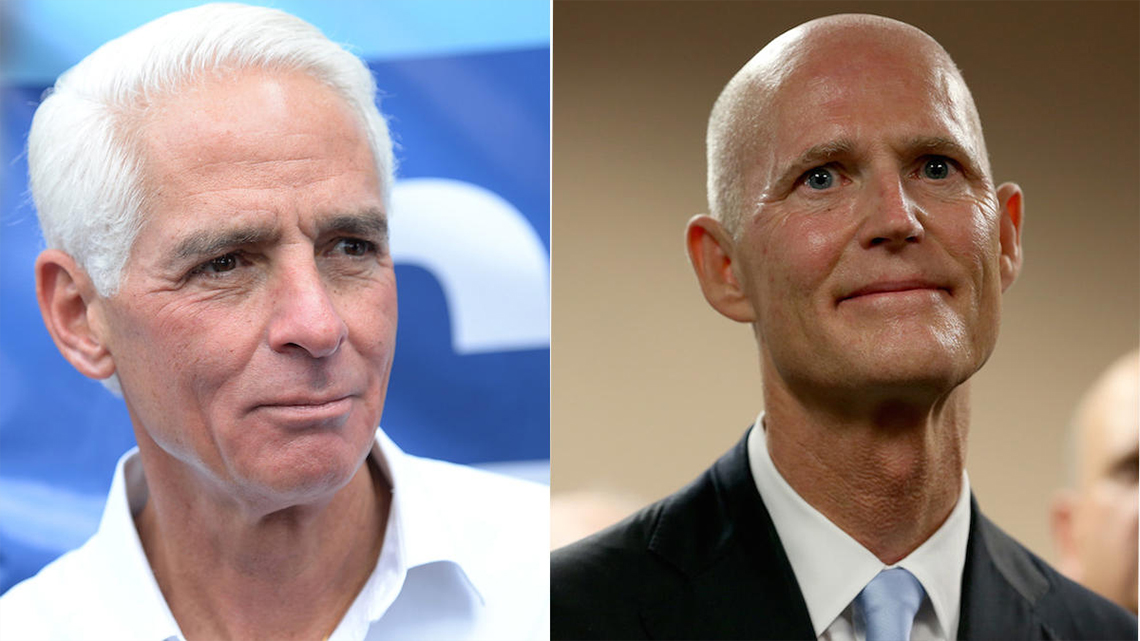 TAX RETURNS AN ISSUE IN FLORIDA GOVERNORS RACE
