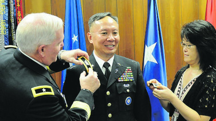 Chaplain soldier serves, digs for Biblical truths