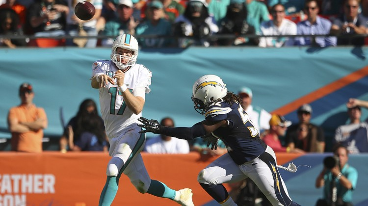 Dolphins beat Chargers 37-0 for 3rd straight win