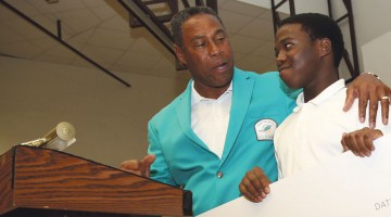 Dolphins present more than $200,000 to students, non-profit organizations
