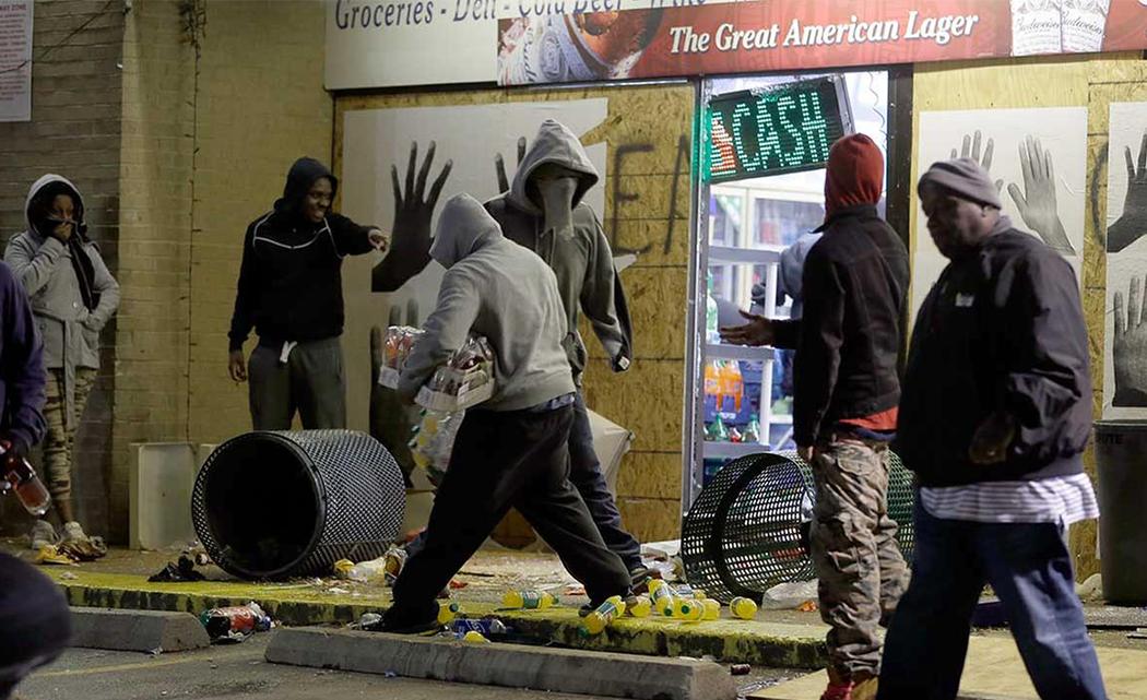 Guard reinforcements contain damage in Ferguson