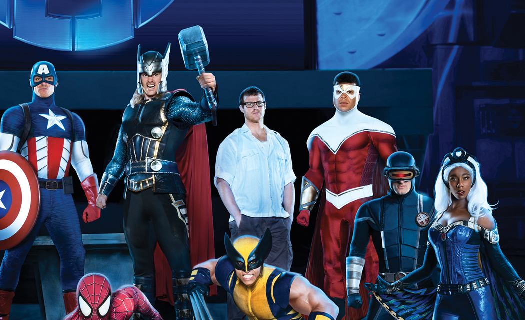 Marvel Universe Live! in 3-D is coming to South Florida from Nov. 20-30