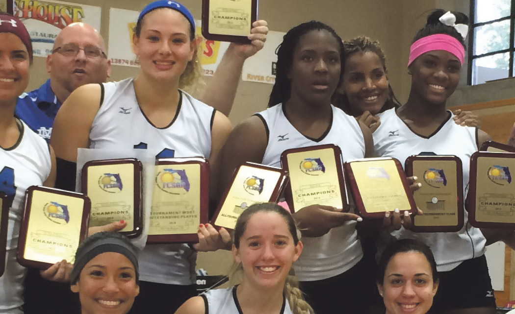 Miami Dade College Women's Volleyball Team on to tournament