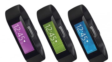Microsoft unveils fitness gadget, health tracking