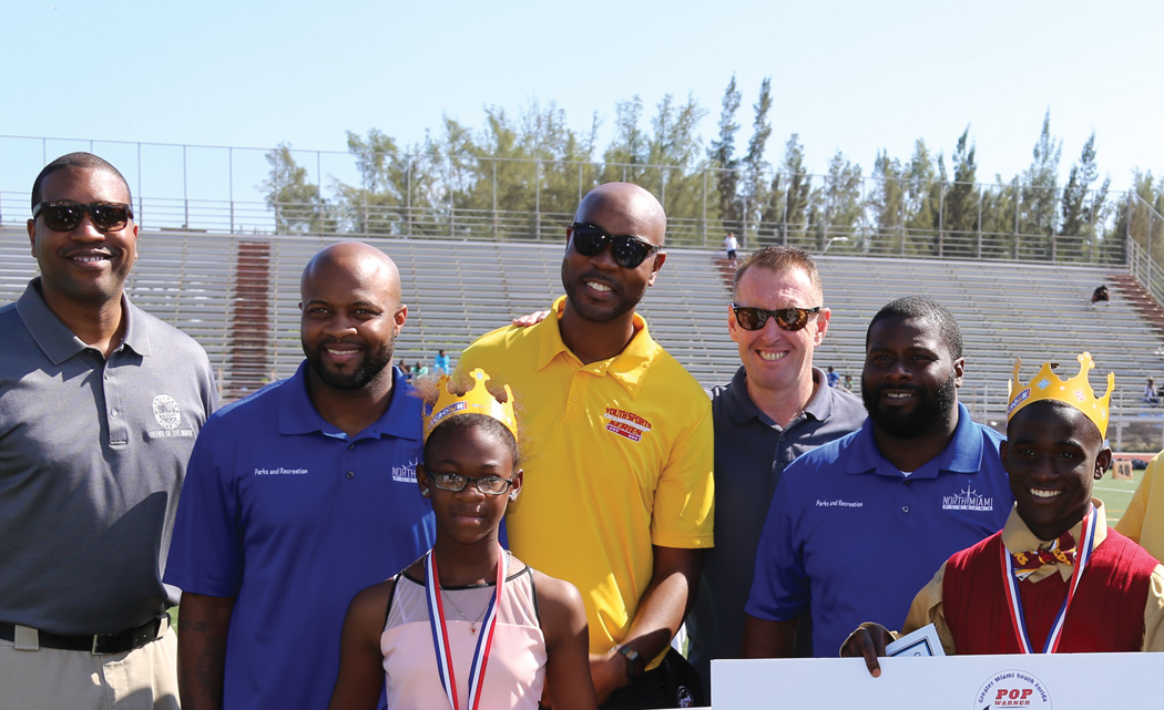 Pop Warner honors scholar athletes