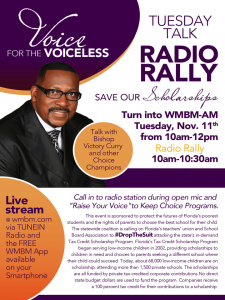 Radio Rally Flyer