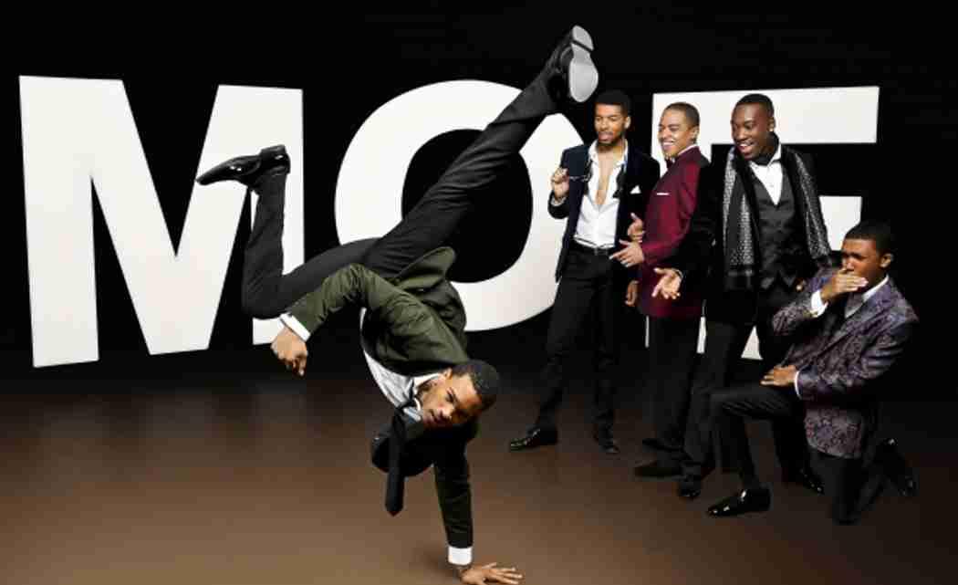 The M Ensemble  company presents  Five Guys Named Moe