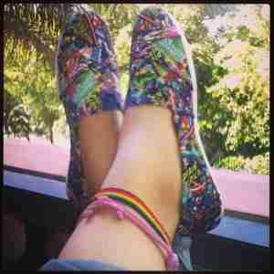 Marvel shoe