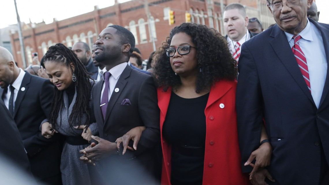 Oprah Winfrey, David Oyelowo,  Ava DuVernay, Common