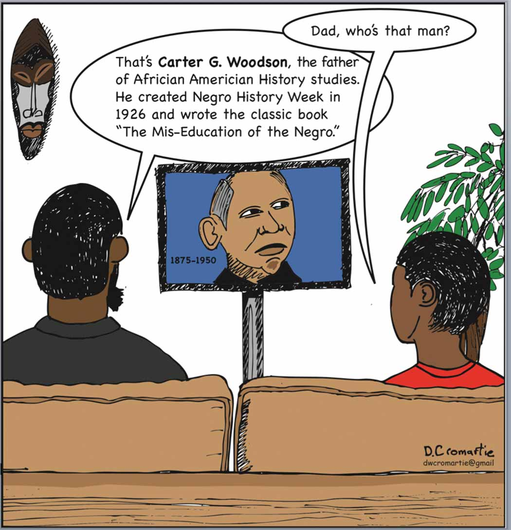 Cartoon----Carter-G-woodson