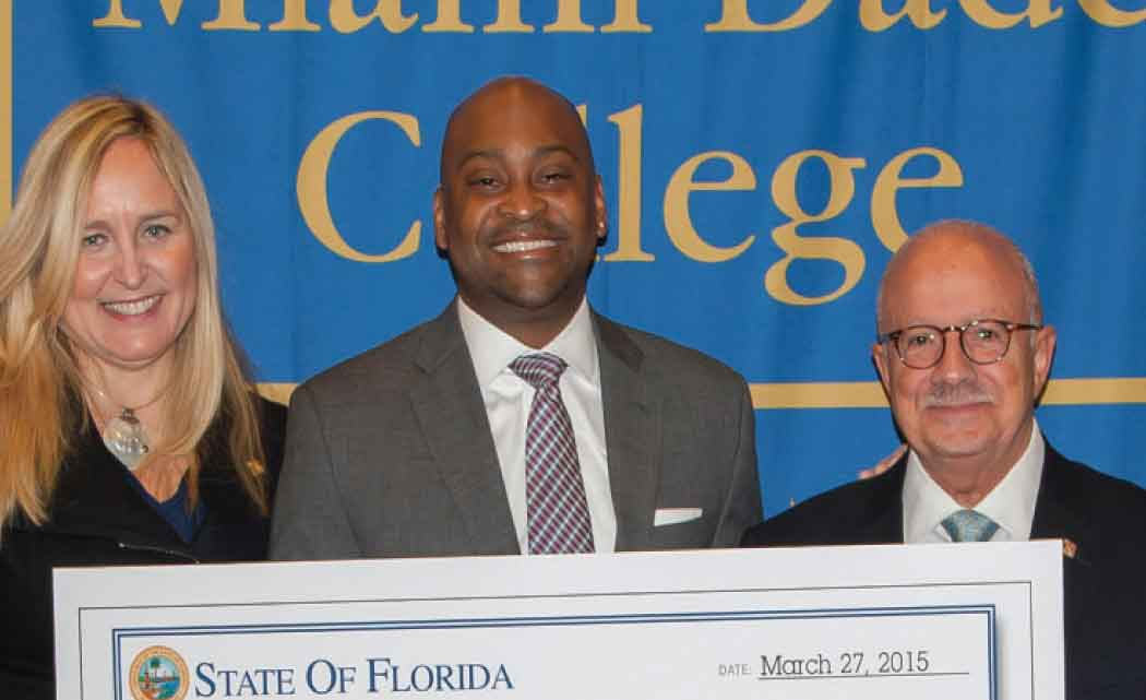 Sen.-Braynon-gets-boost--for-MDC-North-campus