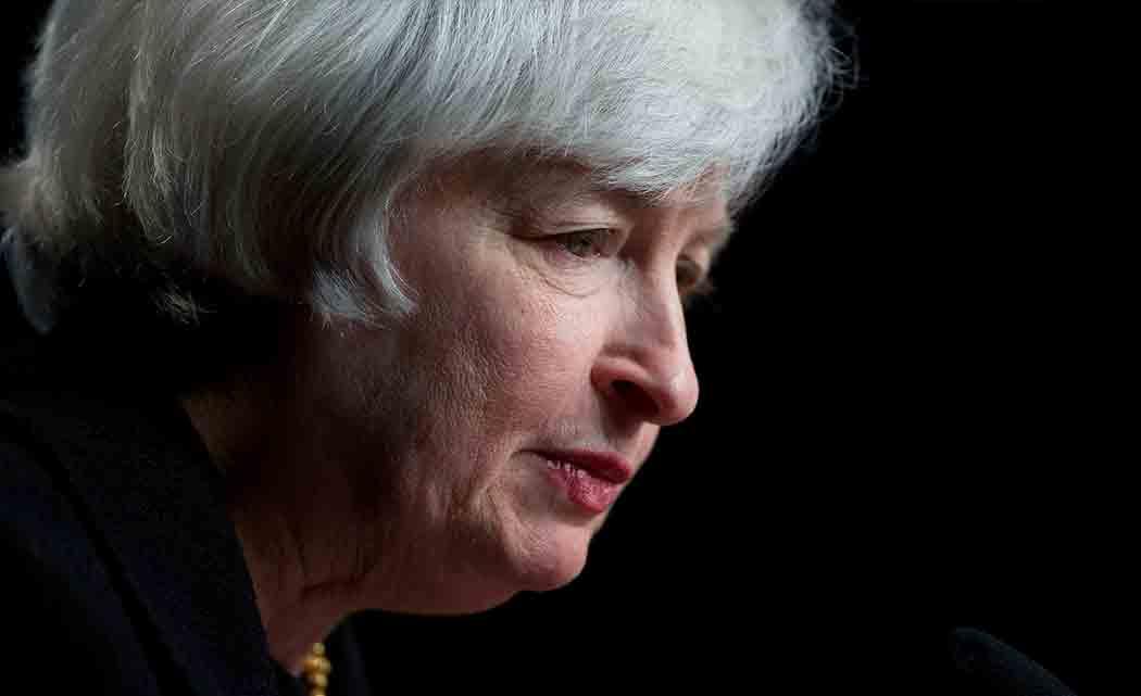 Yellen-reiterates-Feds-patience-in-raising-rates